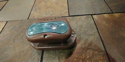 Brown Graco Pack N Play Crib Soother Baby Nature Sound Lights Music Works