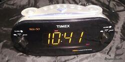 Timex Redi-Set Dual Alarm Digital Clock LOUD Radio AM/FM Large Display T716 XBBU