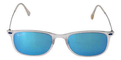 RAY BAN Ray-Ban New Wayfarer Light Ray Blue Mirror Sunglasses RB4225 646/55 (Ray Ban Apparel)