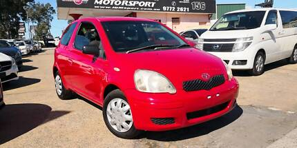 2004 Toyota Echo 3D Manual Hatchback #1247 Revesby Bankstown Area Preview