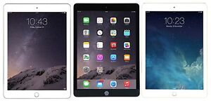 "NEW Apple iPad Air 2 9.7"" Retina Display A8X 16GB iOS Wi-Fi White/Black/Gold"