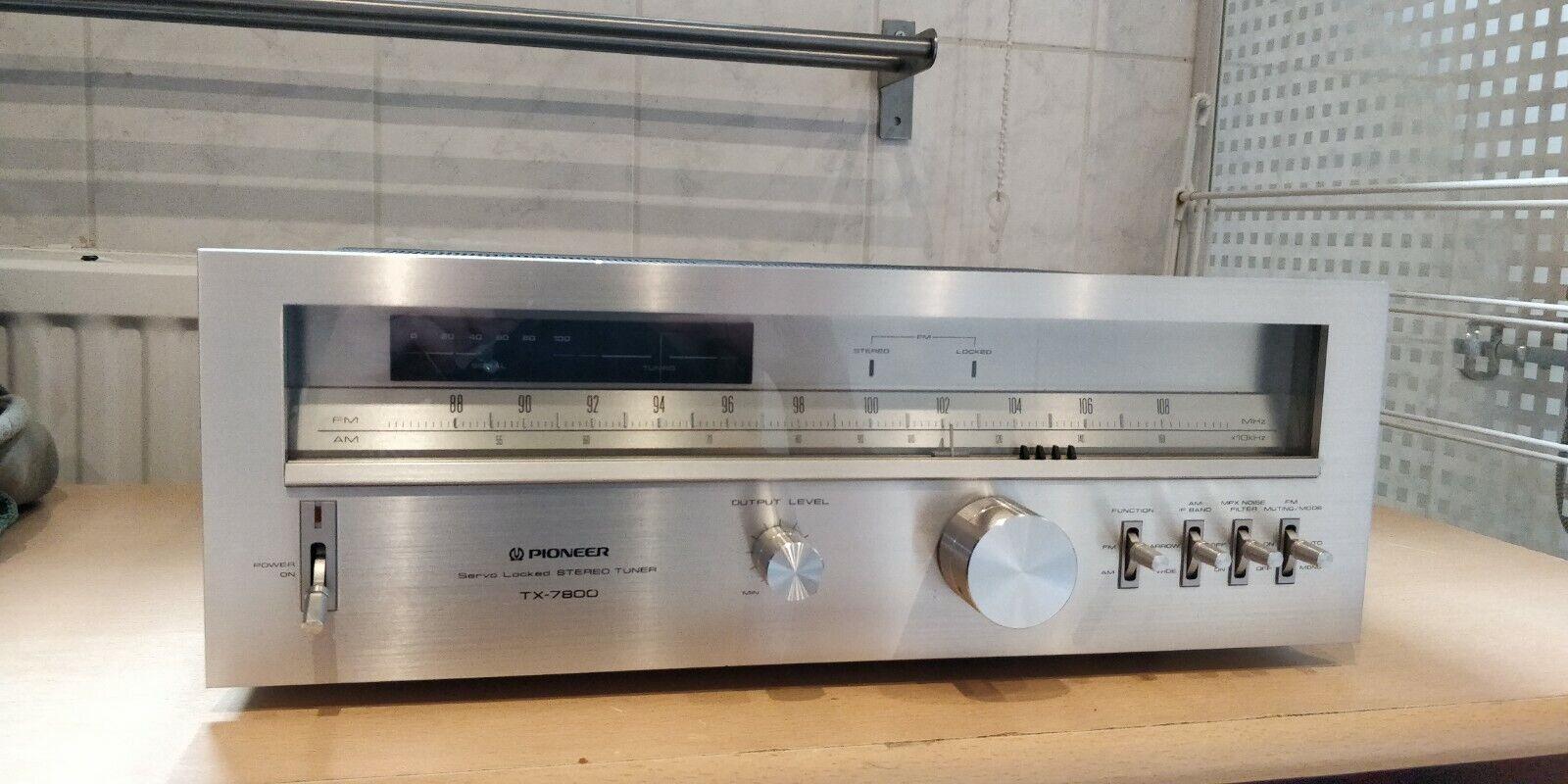 Pioneer  Pioneer TX-7800 AM/FM Stereo Tuner (1979-81)
