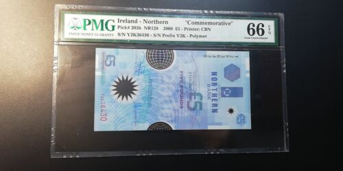 2000 Ireland-Northern £5 P-203b