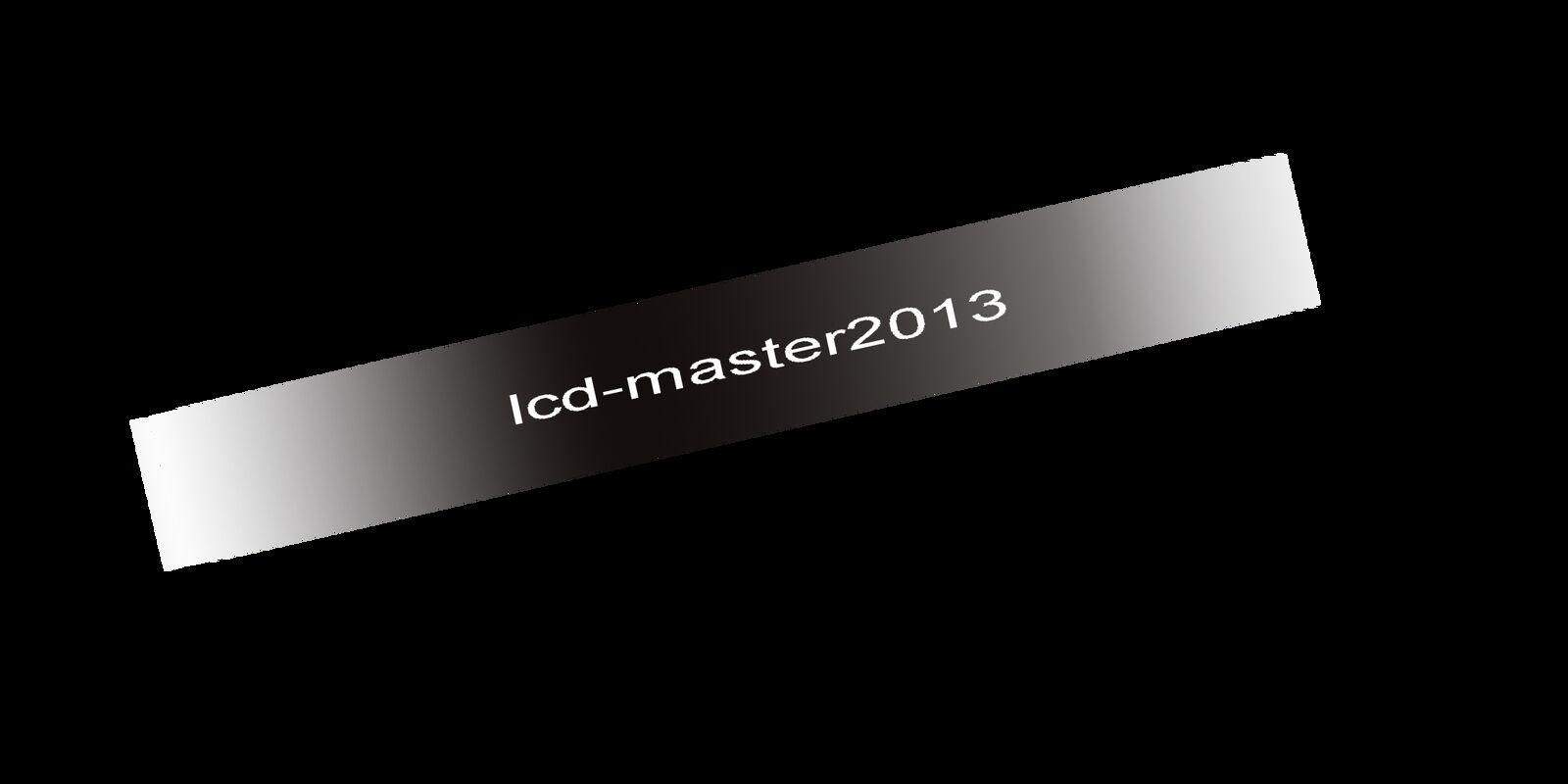 lcd-parts master