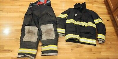 Black Globe Turnout Gear 40 Coat 38 Pants