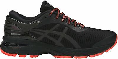 ASICS Gel Kayano 25 LITE SHOW Women's Running Shoes (Size 11) Black 1012A036-001
