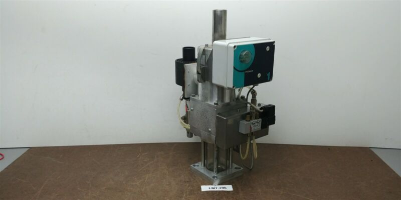 Piovan GR1 10kg Spec A038 Mini Hopper Vacuum Loader Glass Receiver 230v #296