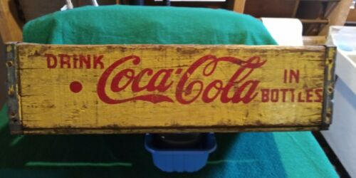 Wooden Coca Cola Bottle  Crate