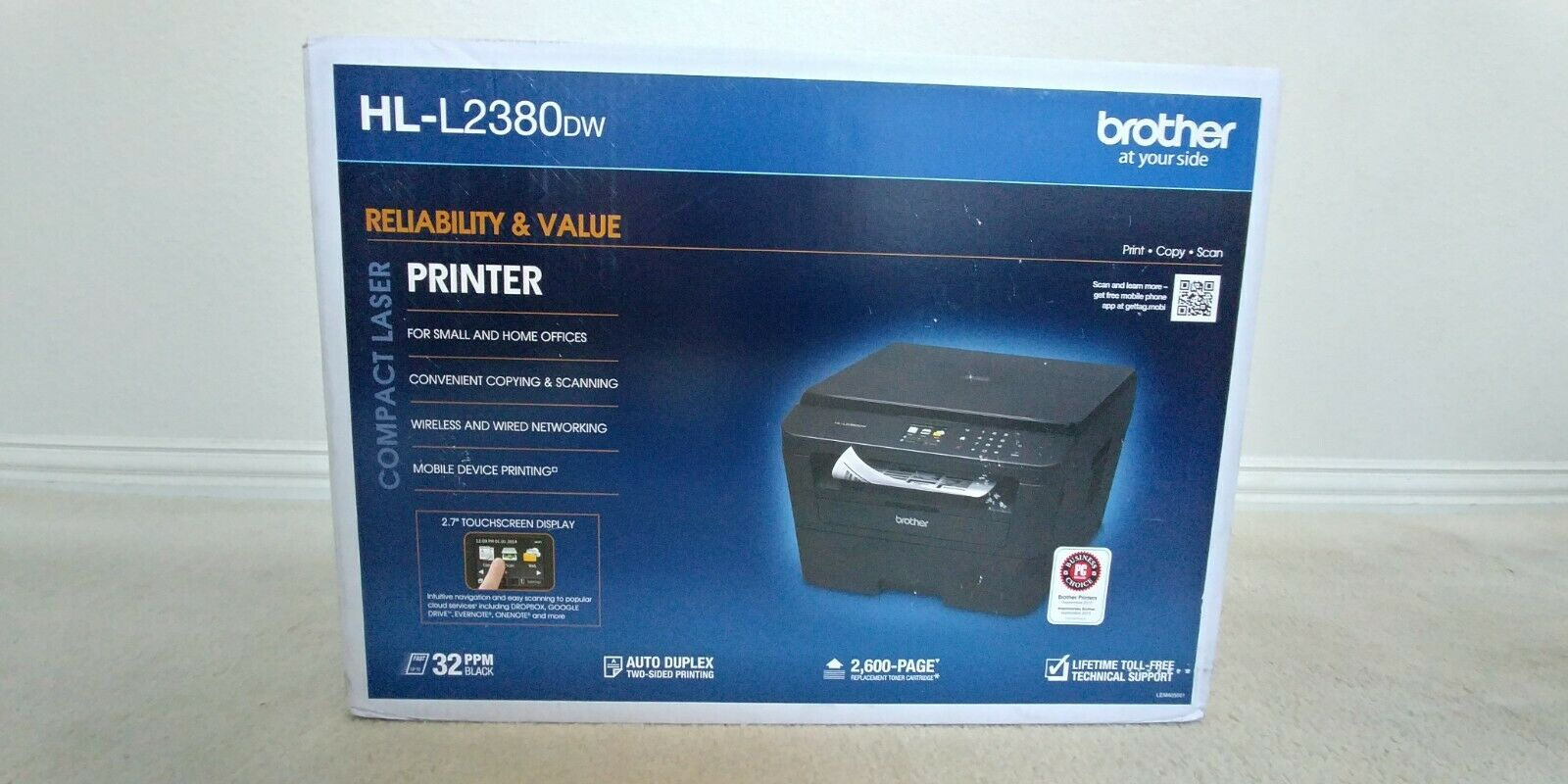 new hl l2380dw all in one laser