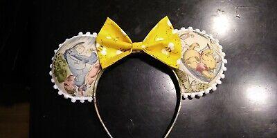 Pooh Ears (Winnie the Pooh Mickey ears, Mickey mouse ears headband for adults,)