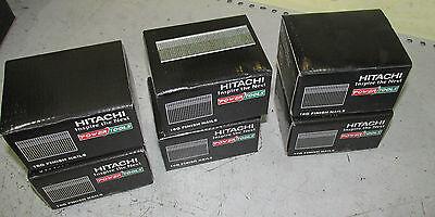 6 X Boxes Of Hitachi 25mm Brad Nails Pin Nail Gun 16ga 2nd Fix Bostitch Paslode
