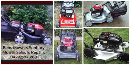 Mower Sales & Repairs Sunbury Hume Area Preview