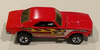 Hot Wheels '67 Camaro  Red with Flames From the 80's