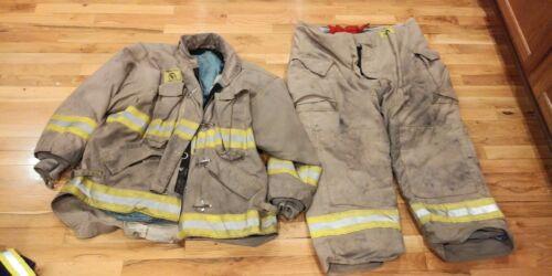 Tan Morning Pride Turnout Gear 56 Coat 46 Pants