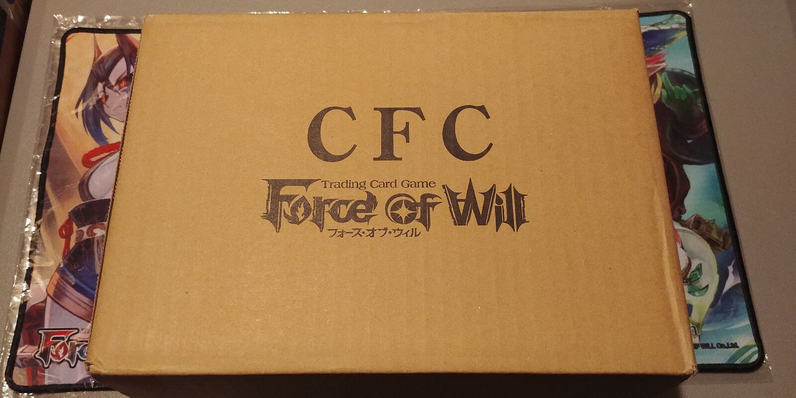 FORCE OF WILL CURSE OF THE FROZEN CASKET 36 PACK BOOSTER BOX BRAND NEW /& SEALED