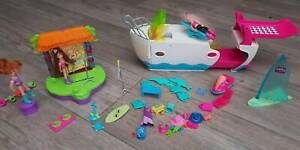 Polly pocket - yacht and loads accessories