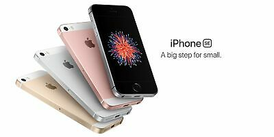 Apple Iphone Se - 64gb - 4g Lte (At&t T-mobile) Gsm Silver Phone (Unlocked)