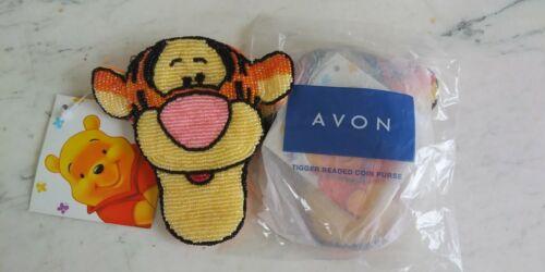 NEW  Avon -Tigger  Beaded Coin Purse - 2003 - Winnie the Pooh