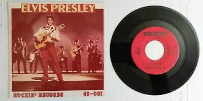 Hillbilly Cat (ELVIS PRESLEY The Hillbilly Cat Rockin' Records 45-001 45 EP NM )