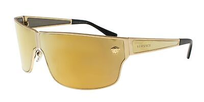 Versace Men's VE2206 Gold/Brown Mirror/Gold One Size