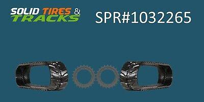 John Deere 35d Rubber Tracks Heavy Duty Sprocket 1032265 - Saving Bundle Kit