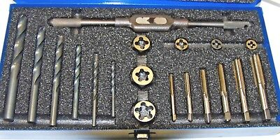 19 Piece Metric Tap Drill And Die Set F-3-1-1-141
