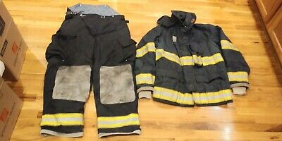Black Globe Turnout Gear 46 Coat 40 Pants
