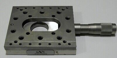 Nice Newport M-umr8-25a Precision Linear Translation Stage With Micrometer