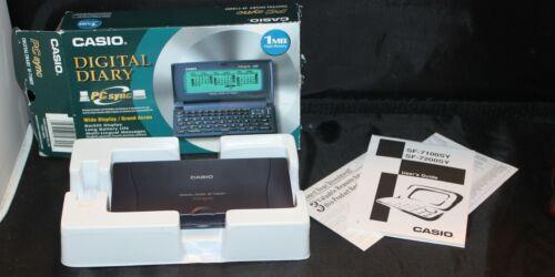 Casio SF-7100SY PLUS 1MB  Multi-Function Digital Diary PC SYNC 1MB w/Box