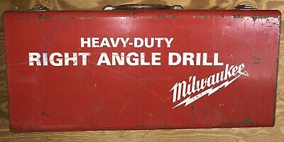 Milwaukee 12 Right Angle Drill Corded