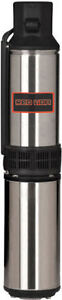 Red Lion 3/4 HP Deep Well Submersible Pump (3-Wire 230V) w/ Cont