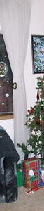 White Window Sheers / Curtains Regina Regina Area image 2