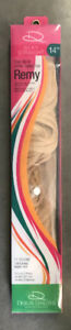 """14"""" Remy Blonde Human Hair Extensions"""