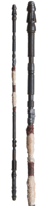 STAR WARS Rey Staff Licensed product Replica Cosplay Costume Staff 48 Inch