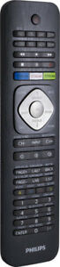 Philips SRP5018/27 8-In-1 Universal Remote Control, Black