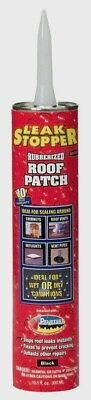 Leak Stopper Gloss Black Rubber Roof Patch 10.1oz Wet Or Dry Instant 0319-ga New