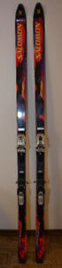 SALOMON DOWNHILL SKI & SKI BAG, SKI THEFT PROT. LOCK & SKI TOTE!