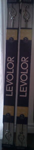 *** Brand New *** Levelor Scroll Curtain Rods 36 - 66 inches