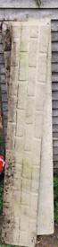 1 x Solid Concrete Gravel Board