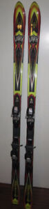 ROSSIGNOL MOUNTAIN VIPER 10.2 184CM SKIS & MARKER M6.1 BINDINGS