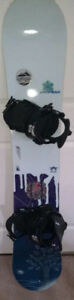 ROME BLUE lady snowboard (used)
