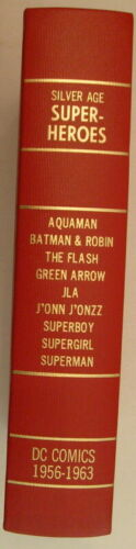 Silver Age DC Superheroes, Beautiful Bound Vol. of 21 Complete Coverless Issues!