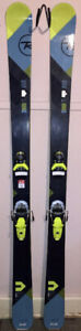 2017 Rossignol Exp HD 100 182cm skis, Look Pivot 14 Dual binding