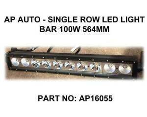 AP AUTO - Single Row LED Light Bar 100W 563MM Fyshwick South Canberra Preview