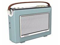 Goodmans Vintage OXFORD DAB+ Digital FM RDS Radio - Blue