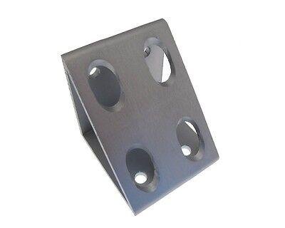 8 Hole Gusseted Inside Corner Bracket For T-slot Aluminum Extrusion Long 3060