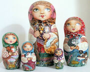 Russian Nesting Dolls Animals