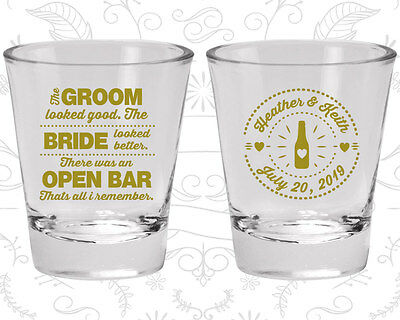Wedding Party Shot Glasses Funny Shot Glass (253) Bar Wedding Favors](Wedding Favors Shot Glasses)