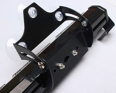 Led Light Cups (2X Strobe Traffic Advisor LED Light Bar Bracket with Suction)