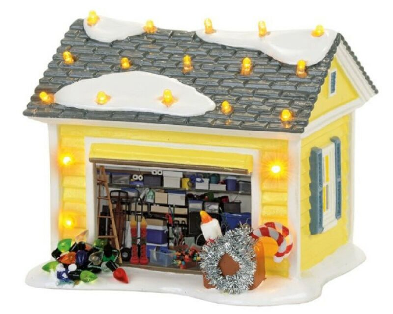 Department 56 Christmas Vacation Griswold Holiday Garage Building 4056686 New